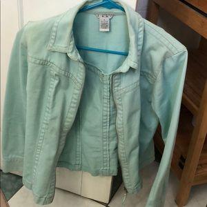 Cabi sky blue denim jacket S (vintage)